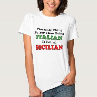 Being Sicilian Tees