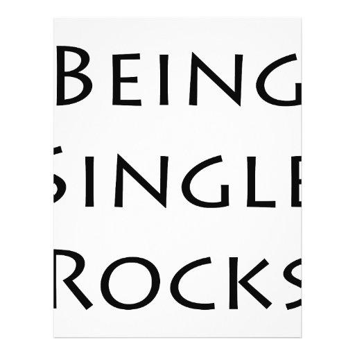Being Single Rocks Flyers