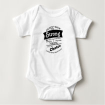 Being Strong Colon Cancer Awareness Baby Bodysuit