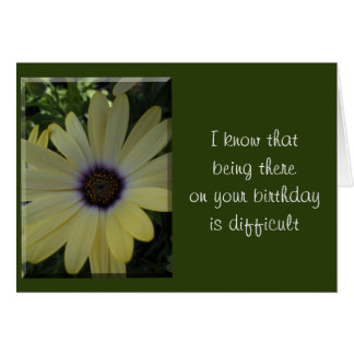 Being There Greeting Card