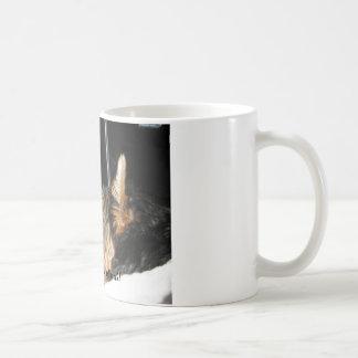 Being this cute is hard work! coffee mug