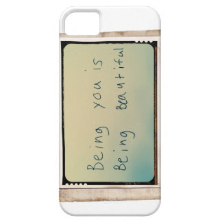 Being You is Being Beautiful iPhone Case