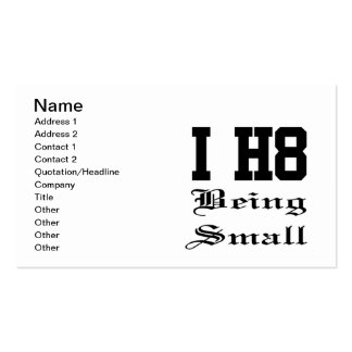 beingsmall business card