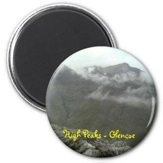 Beinn Fhada - Glencoe Imán Redondo 5 Cm
