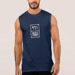 Beirut's Digit #961 Sleeveless for Men Sleeveless T-shirt