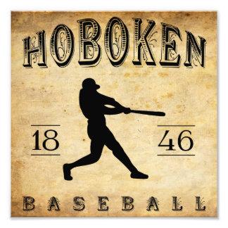 Béisbol 1846 de Hoboken New Jersey Fotografias
