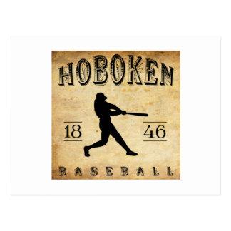 Béisbol 1846 de Hoboken New Jersey Tarjetas Postales