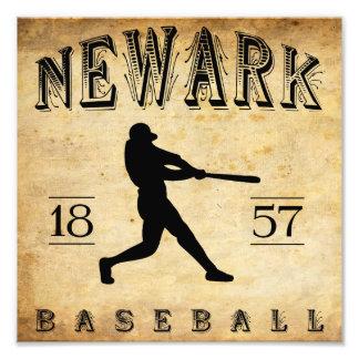 Béisbol 1857 de Newark New Jersey Impresiones Fotograficas