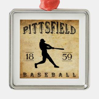 Béisbol 1859 de Pittsfield Massachusetts Ornamento De Navidad