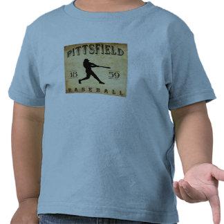 Béisbol 1859 de Pittsfield Massachusetts Camisetas