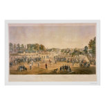 Béisbol 1863 de la guerra civil impresiones