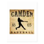 Béisbol 1865 de Camden New Jersey Postal