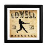 Béisbol 1865 de Lowell Massachusetts Caja De Regalo