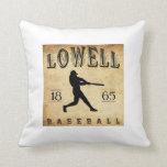 Béisbol 1865 de Lowell Massachusetts Cojines