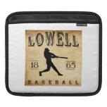 Béisbol 1865 de Lowell Massachusetts Funda Para iPads
