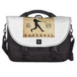Béisbol 1865 de Milwaukee Wisconsin Bolsas Para Ordenador