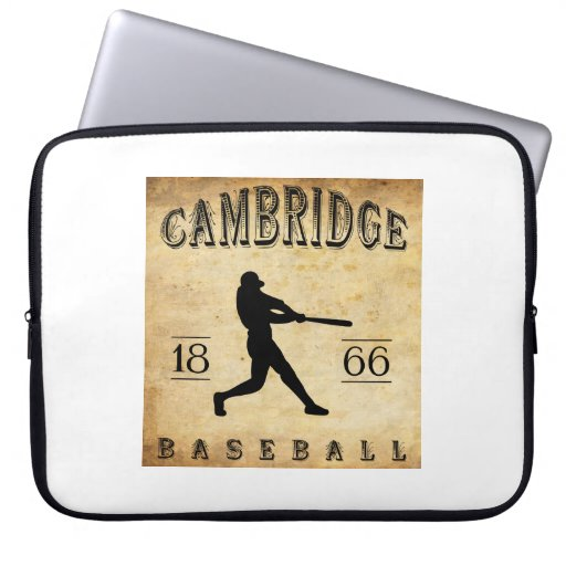 Béisbol 1866 de Cambridge Massachusetts Funda Ordendadores