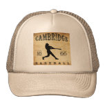 Béisbol 1866 de Cambridge Massachusetts Gorra