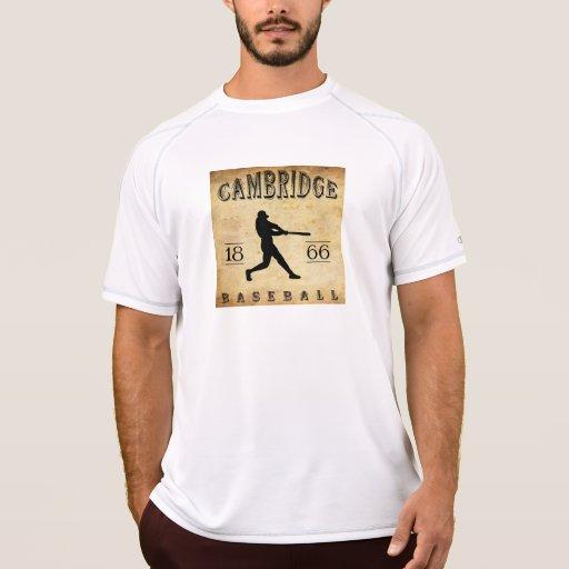 Béisbol 1866 de Cambridge Massachusetts T Shirt