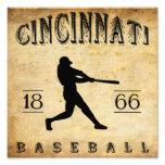 Béisbol 1866 de Cincinnati Ohio Foto
