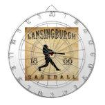 Béisbol 1866 de Lansingburgh Nueva York Tabla Dardos