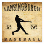 Béisbol 1866 de Lansingburgh Nueva York Arte Fotográfico