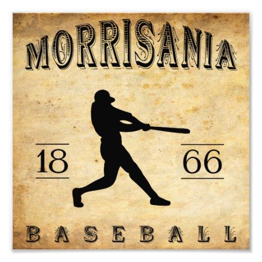 Béisbol 1866 de Morrisania Nueva York Cojinete