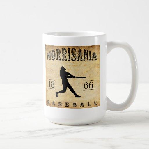 Béisbol 1866 de Morrisania Nueva York Tazas