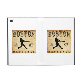 Béisbol 1867 de Boston Massachusetts iPad Mini Fundas