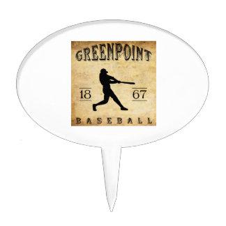 Béisbol 1867 de Greenpoint Nueva York Figuras De Tarta