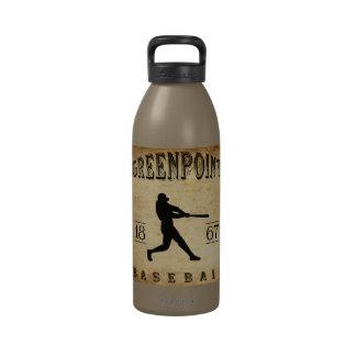 Béisbol 1867 de Greenpoint Nueva York Botallas De Agua
