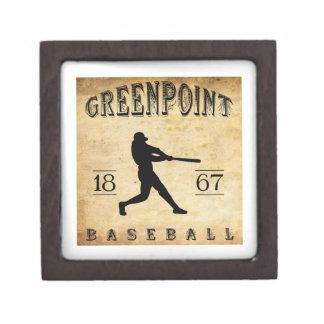 Béisbol 1867 de Greenpoint Nueva York Caja De Recuerdo De Calidad