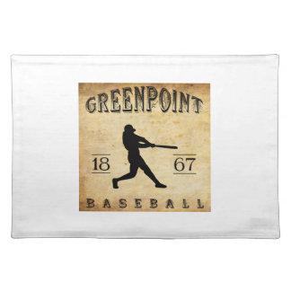 Béisbol 1867 de Greenpoint Nueva York Mantel Individual