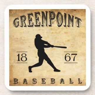 Béisbol 1867 de Greenpoint Nueva York Posavasos De Bebida