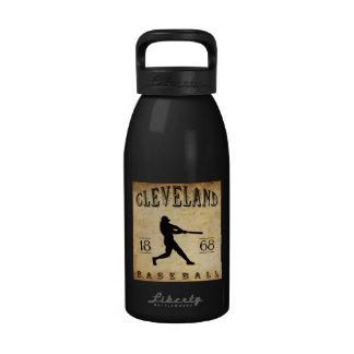 Béisbol 1868 de Cleveland Ohio Botella De Agua