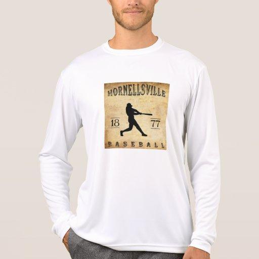 Béisbol 1877 de Hornellsville Nueva York Camiseta