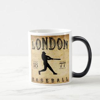 Béisbol 1877 de Londres Ontario Canadá Tazas