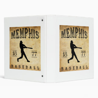 "Béisbol 1877 de Memphis Tennessee Carpeta 1"""