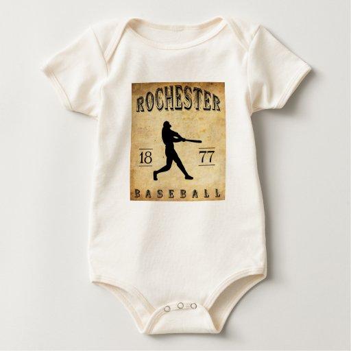 Béisbol 1877 de Rochester Nueva York Enteritos