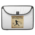 Béisbol 1877 de Rochester Nueva York Funda Para Macbook Pro