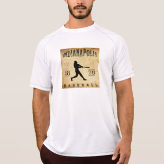 Béisbol 1878 de Indianapolis Indiana Camiseta