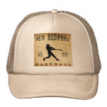 Béisbol 1878 de New Bedford Massachusetts Gorros