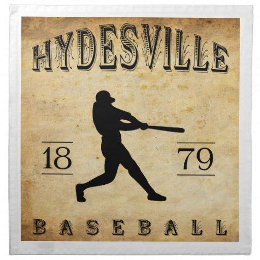 Béisbol 1879 de Hydesville California Servilleta