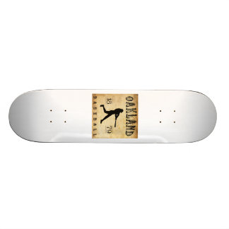 Béisbol 1879 de Oakland California Skate Board