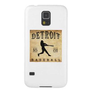 Béisbol 1881 de Detroit Michigan Funda Galaxy S5