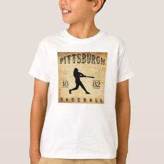 Béisbol 1882 de Pittsburgh Pennsylvania Playera