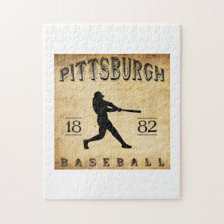 Béisbol 1882 de Pittsburgh Pennsylvania Puzzles