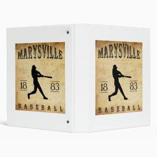 Béisbol 1883 de Marysville California