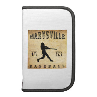 Béisbol 1883 de Marysville California Planificador