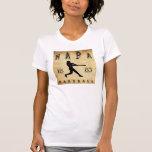 Béisbol 1883 de Napa California Camisetas
